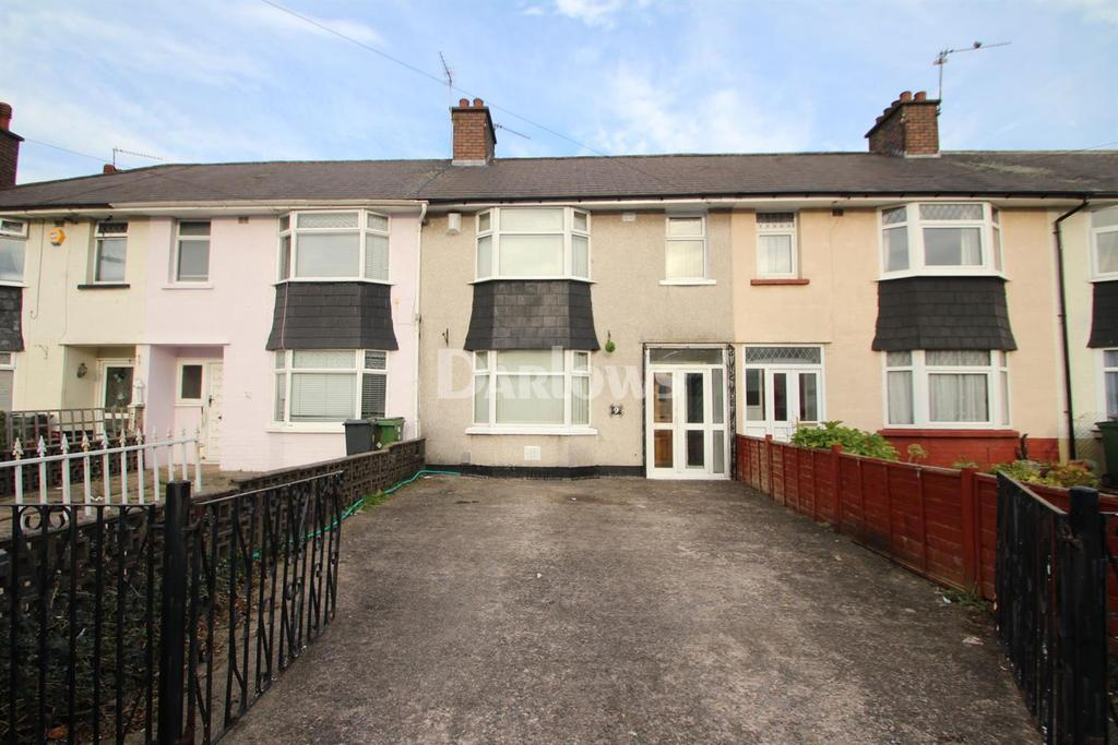 3 Bedrooms Terraced House for sale in Storrar Road, Tremorfa, Cardiff