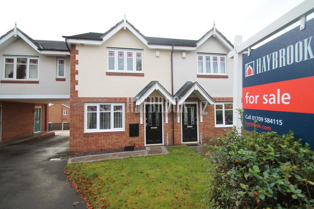 2 Bedrooms Semi Detached House for sale in Loscoe Grove, Goldthorpe