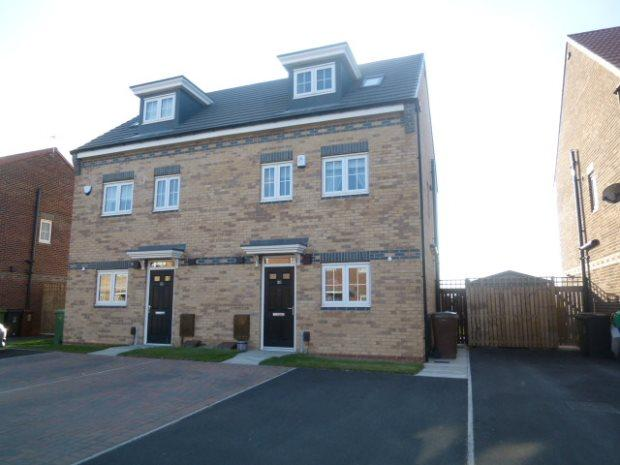 3 Bedrooms Semi Detached House for sale in WESTFIELDS, BRIERTON, HARTLEPOOL