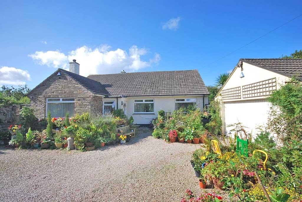 3 Bedrooms Detached Bungalow for sale in Trispen, Nr. Truro, South Cornwall , TR4