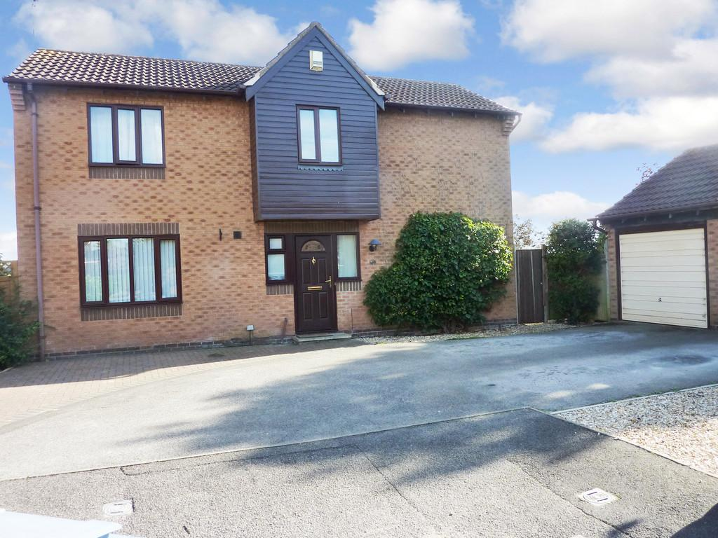 4 Bedrooms Detached House for sale in Brixworth Way, Retford