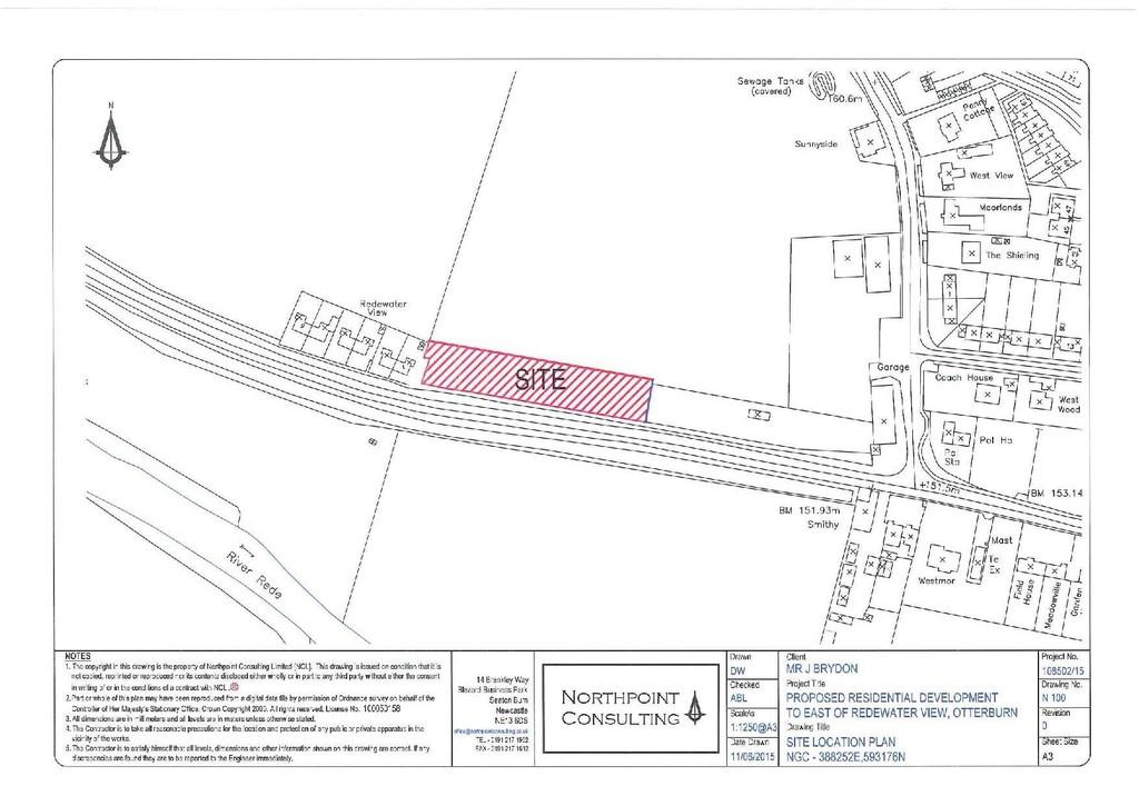 Land Commercial for sale in Redewater View, Otterburn
