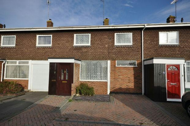 3 Bedrooms Terraced House for sale in Fairwater Drive, Woodley, Reading,