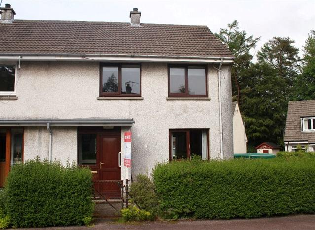 3 Bedrooms Terraced House for sale in Highbank Park, Lochgilphead