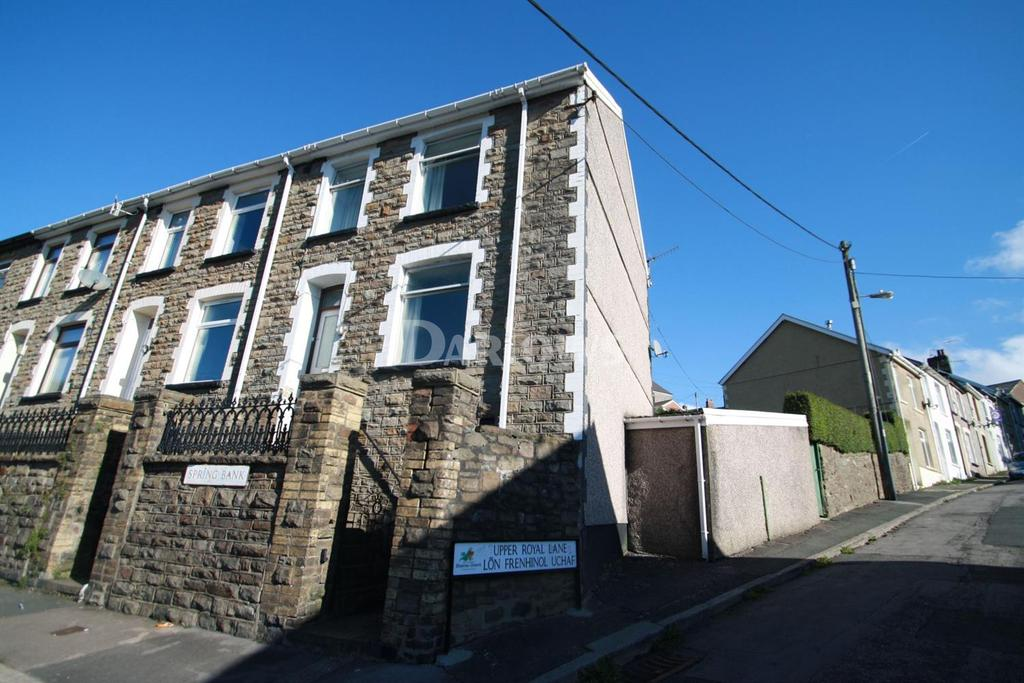 2 Bedrooms End Of Terrace House for sale in Spring Bank, Abertillery, Gwent