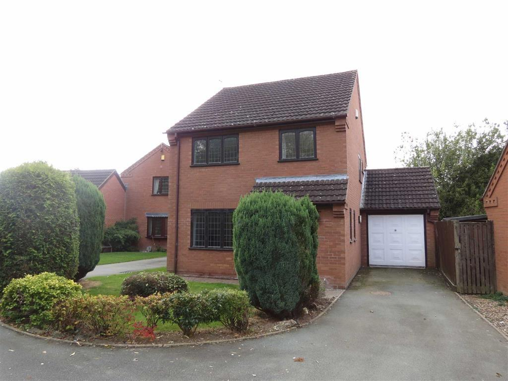 3 Bedrooms Detached House for sale in Willow Park, Shrewsbury, Shropshire