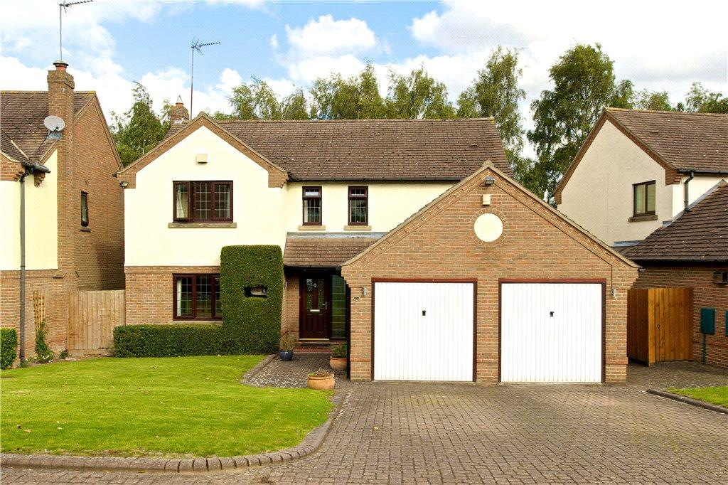 4 Bedrooms Detached House for sale in Stewart Close, Moulton, Northampton, Northamptonshire