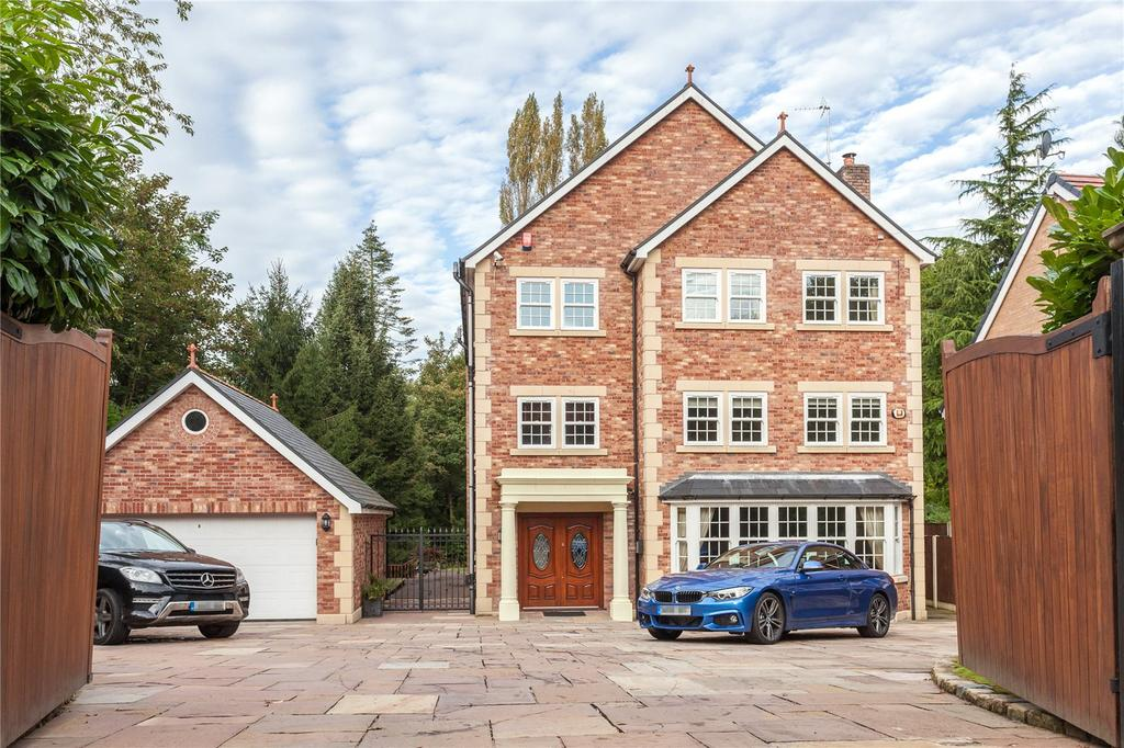 7 Bedrooms Detached House for sale in Chatsworth Road, Worsley, Manchester, Greater Manchester, M28