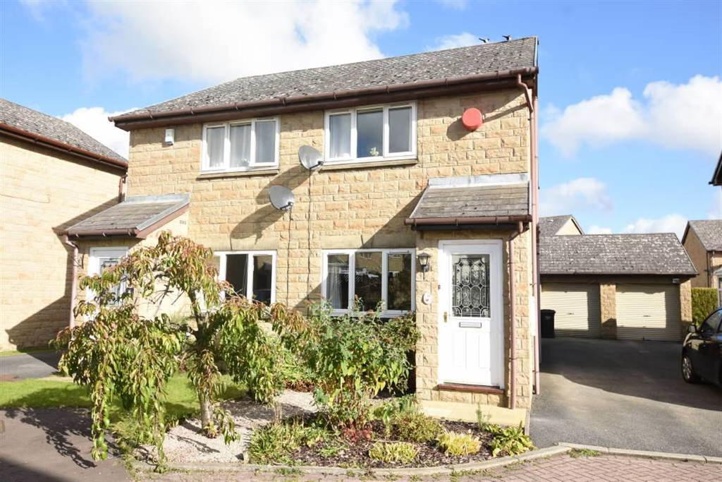 2 Bedrooms Semi Detached House for sale in Moor Stone Place, Halifax