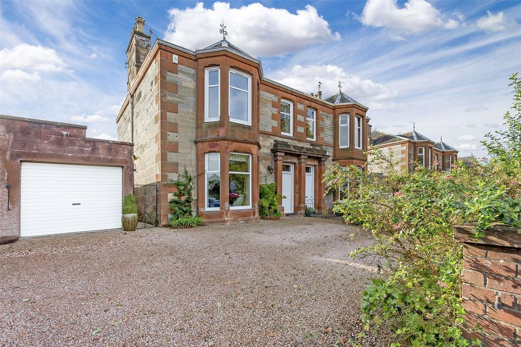 4 Bedrooms Semi Detached House for sale in 4 Fitzroy Terrace, Perth, PH2