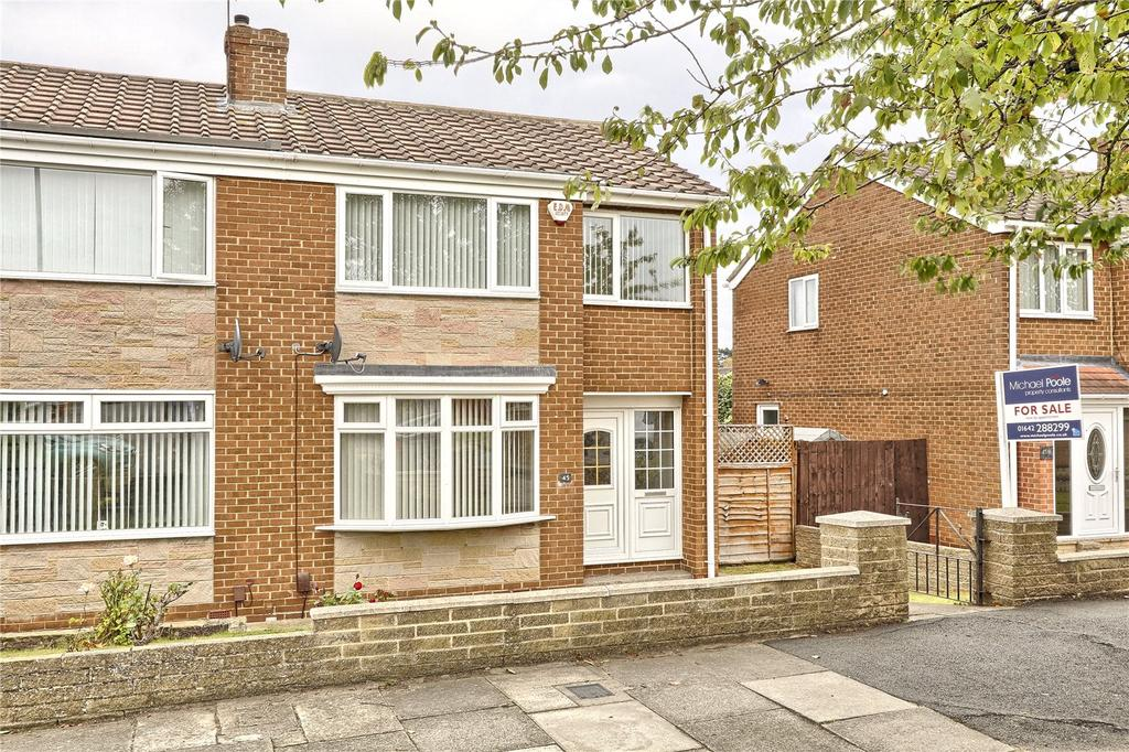 3 Bedrooms Semi Detached House for sale in The Derby, Marton Manor