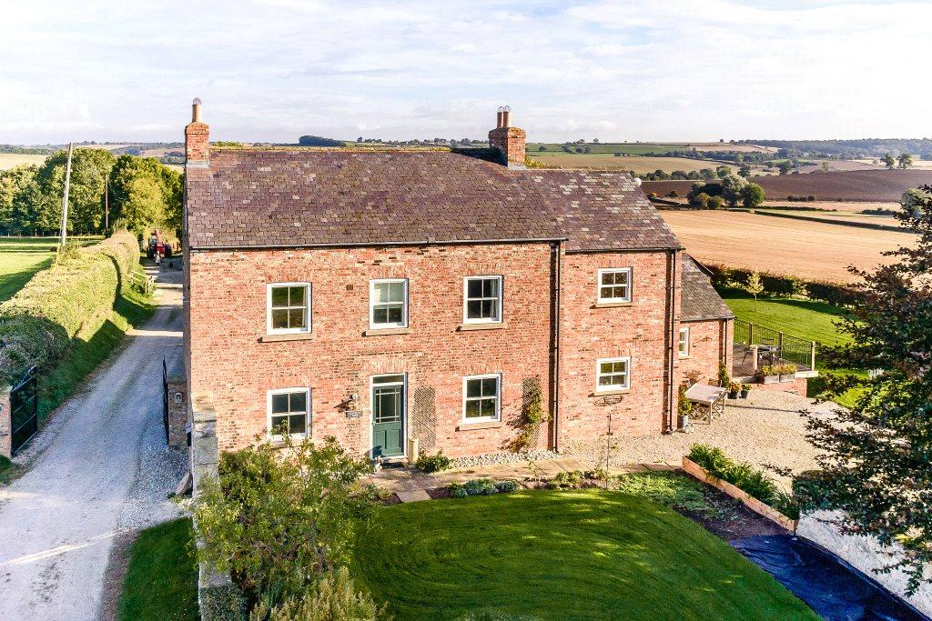 5 Bedrooms Detached House for sale in Gravel Pit Farm, Foston, York, North Yorkshire, YO60