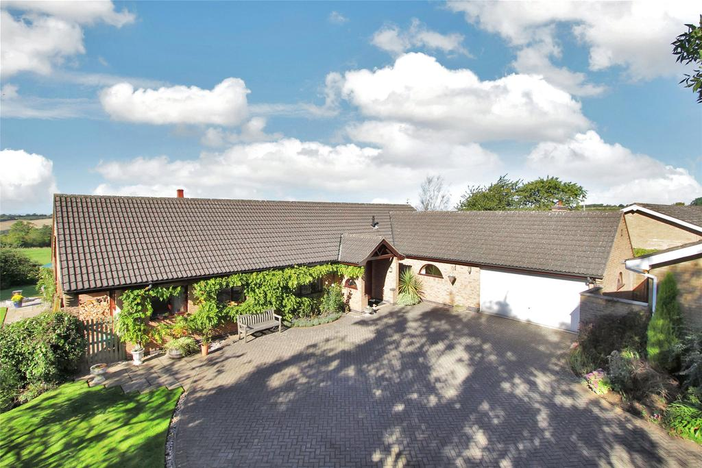 4 Bedrooms Detached Bungalow for sale in Main Street, Burrough On The Hill, Melton Mowbray