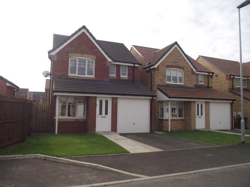 3 Bedrooms Detached House for sale in Powburn Place, Ashington, Three Bedroom Detached House