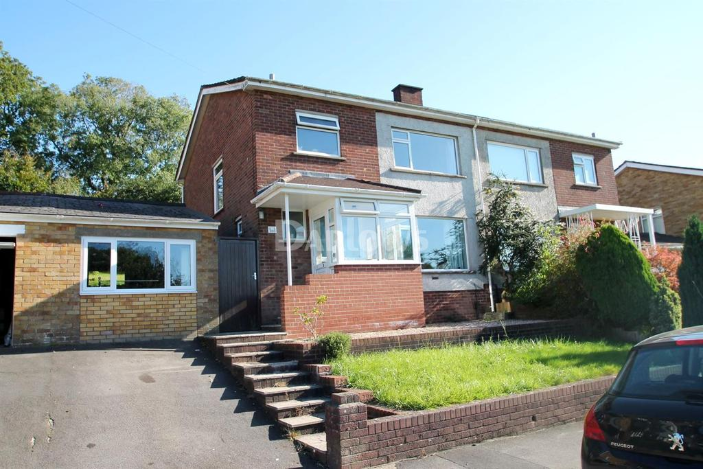 3 Bedrooms Semi Detached House for sale in Ridgeway Road, Rumney, Cardiff