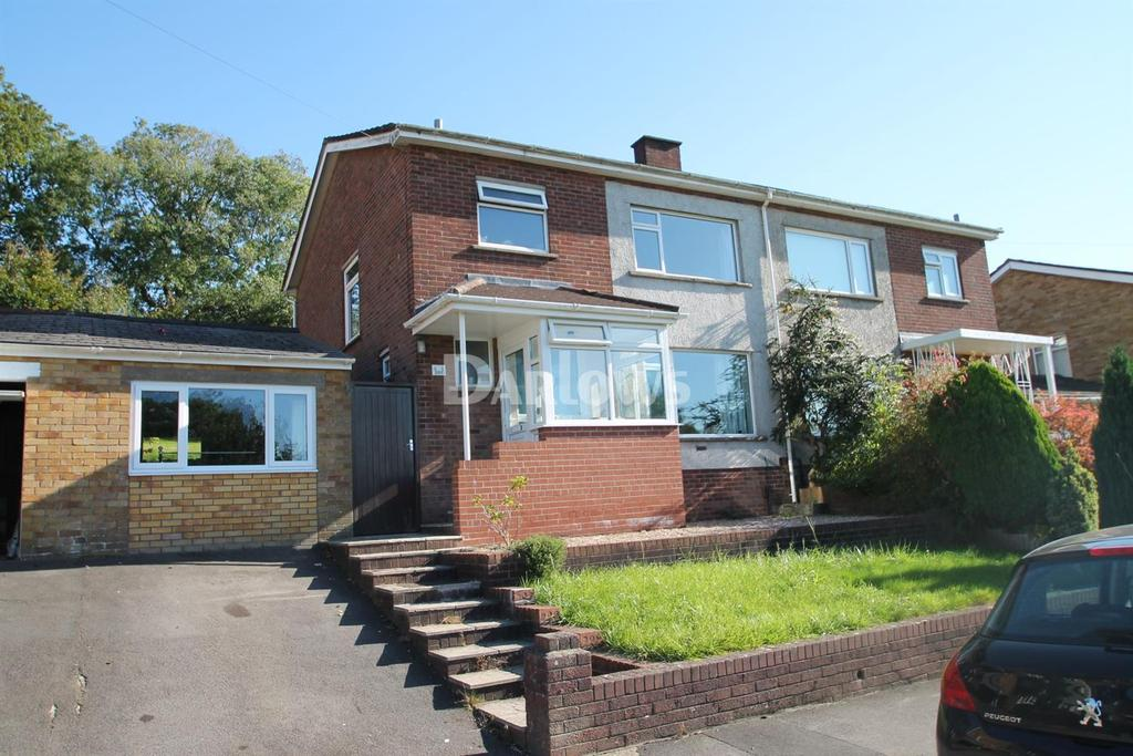 3 Bedrooms Semi Detached House for sale in Ridgeway Road, Rumney, Cardiff