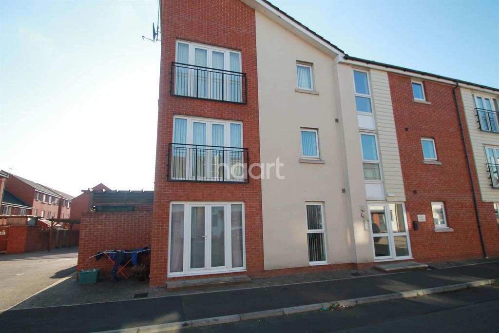1 Bedroom Flat for sale in Edgar House, Alicia Crescent, Newport