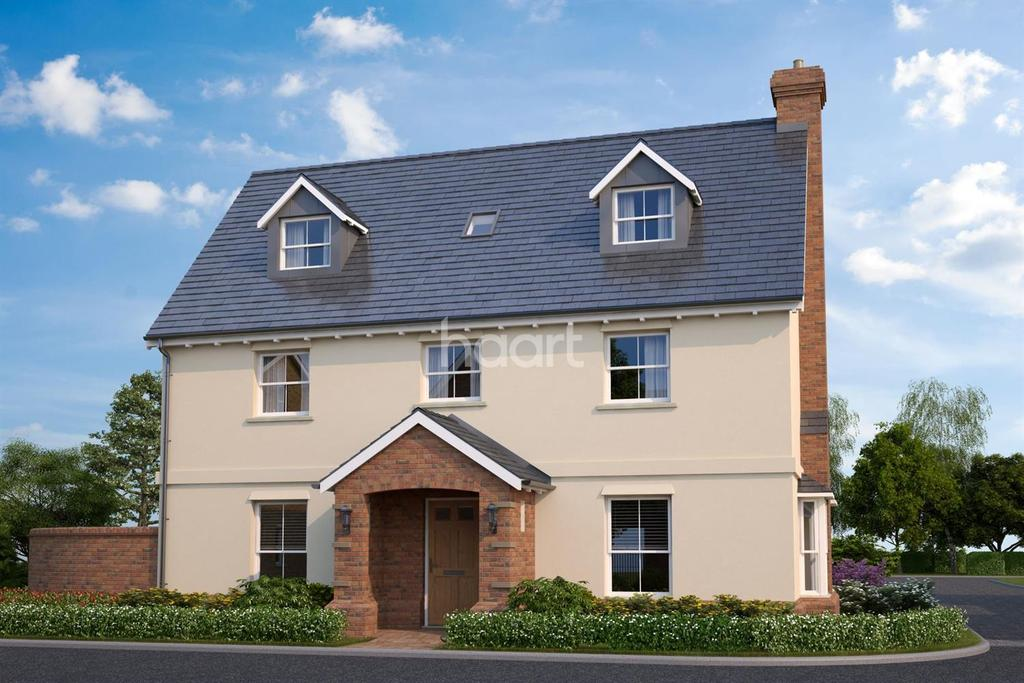 5 Bedrooms Detached House for sale in Plot 49, Aylesford Way, Stapleford