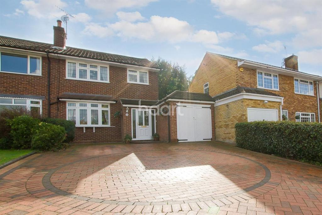 4 Bedrooms Semi Detached House for sale in Manor House Gardens, Abbots Langley, WD5