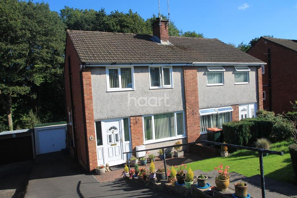 3 Bedrooms Semi Detached House for sale in Robertson Way, Malpas, Newport