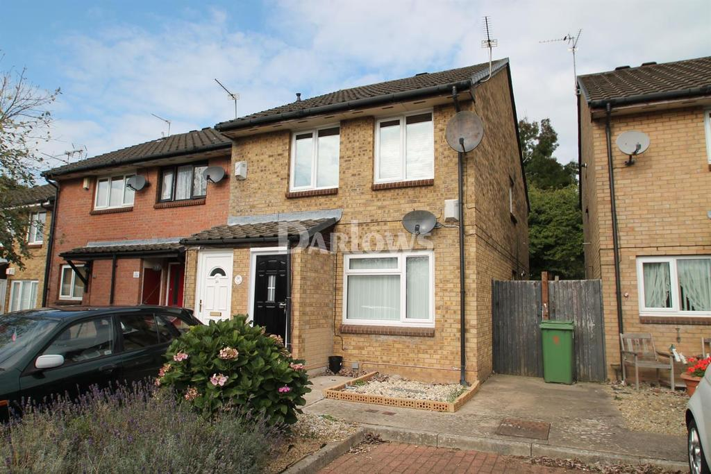 2 Bedrooms Flat for sale in Eider Close, St Mellons, Cardiff