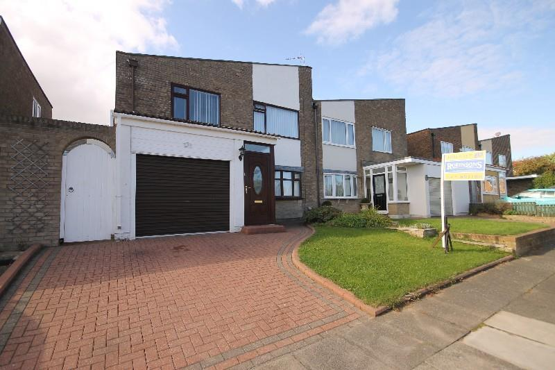 3 Bedrooms Semi Detached House for sale in St Andrews Grove, Hartlepool