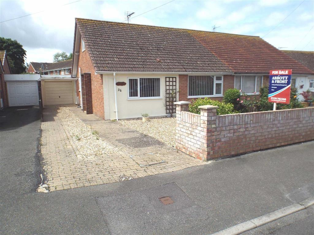 3 Bedrooms Semi Detached Bungalow for sale in Apex Drive, Highbridge
