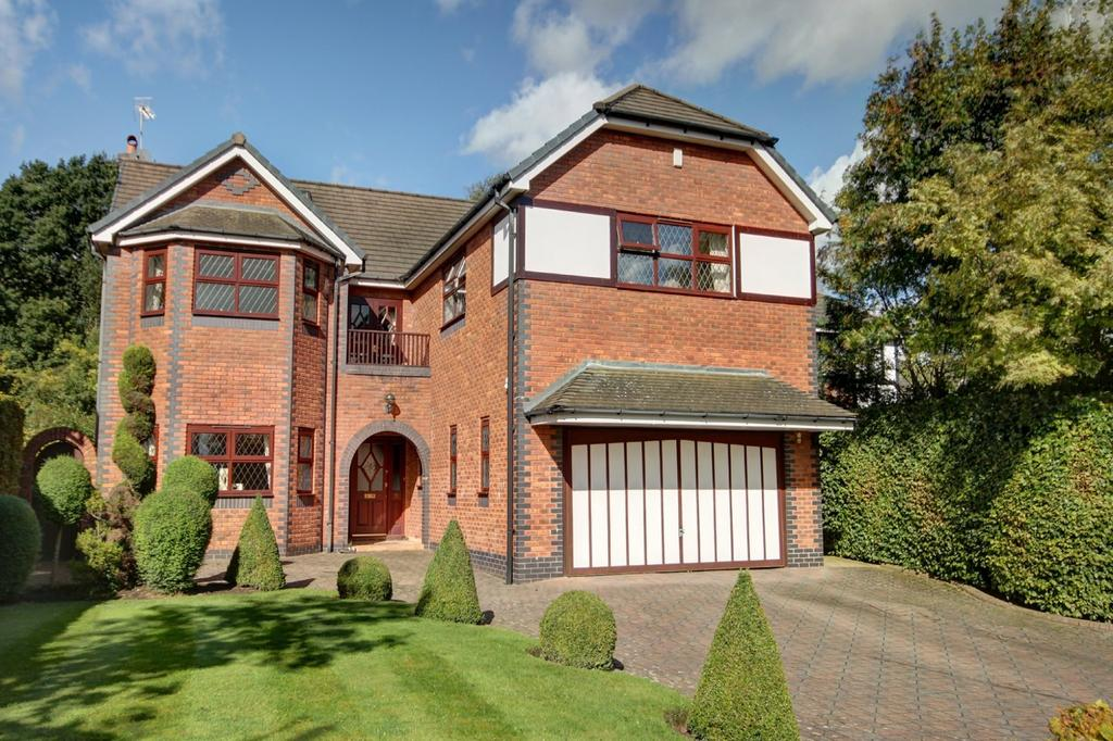 5 Bedrooms Detached House for sale in Burnside, Hale Barns
