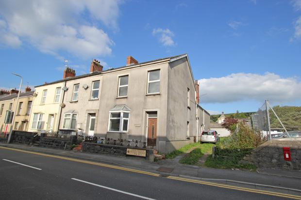4 Bedrooms End Of Terrace House for sale in Francis Terrace, Carmarthen, Carmarthenshire
