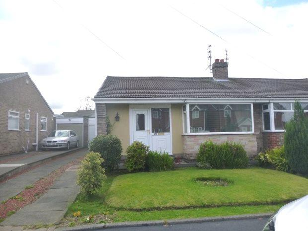 2 Bedrooms Semi Detached Bungalow for sale in SEVENOAKS DRIVE, HASTINGS HILL, SUNDERLAND NORTH