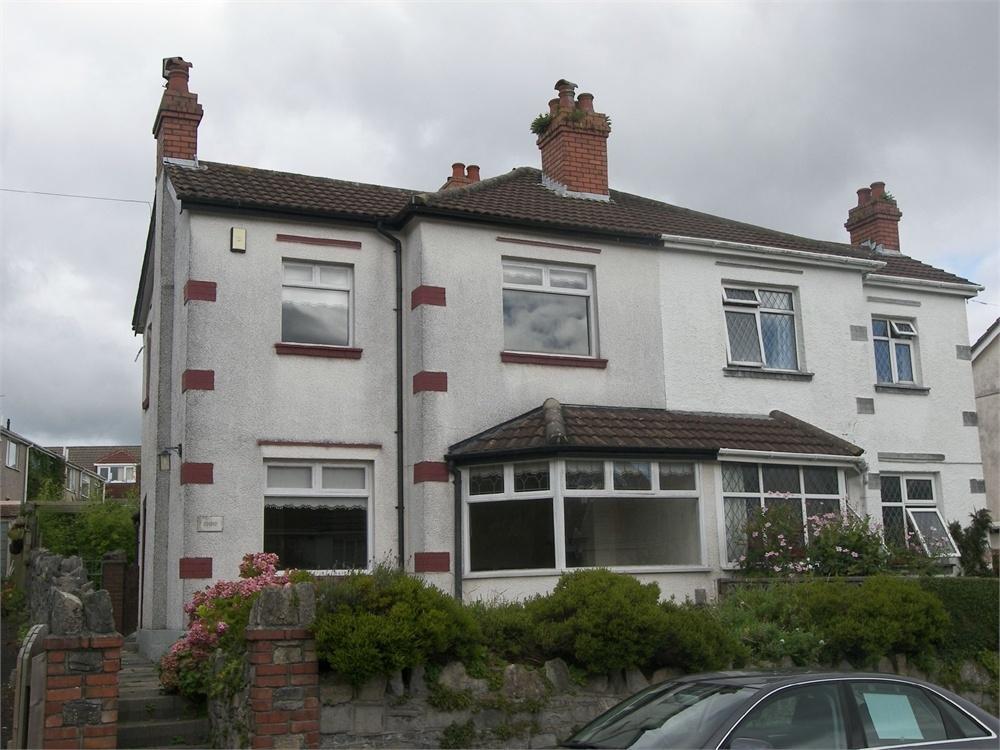 3 Bedrooms Semi Detached House for sale in Slade Road, Newton, Swansea