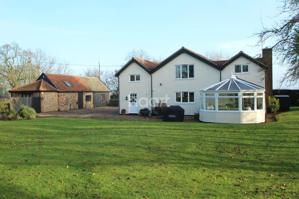 4 Bedrooms Detached House for sale in Barrow Hill, Bury St Edmunds, Suffolk