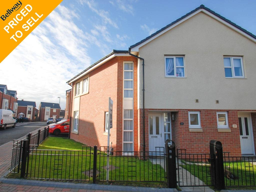 3 Bedrooms Semi Detached House for sale in Rowan Drive, South Shields