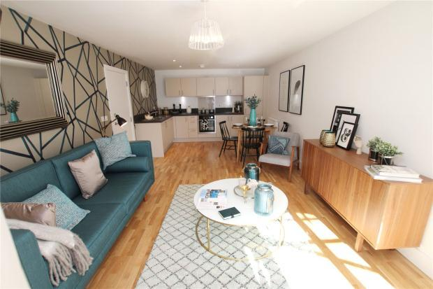 2 Bedrooms Apartment Flat for sale in Plot 38, The Bridge, Wherry Road, Norwich