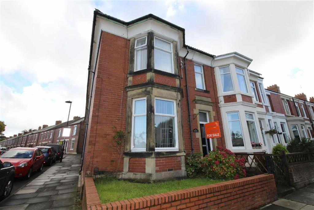 4 Bedrooms End Of Terrace House for sale in Walton Avenue, North Shields