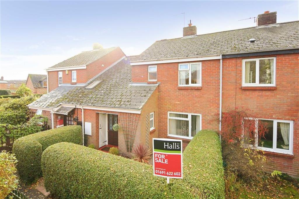 3 Bedrooms Terraced House for sale in Church Green, Cockshutt, SY12