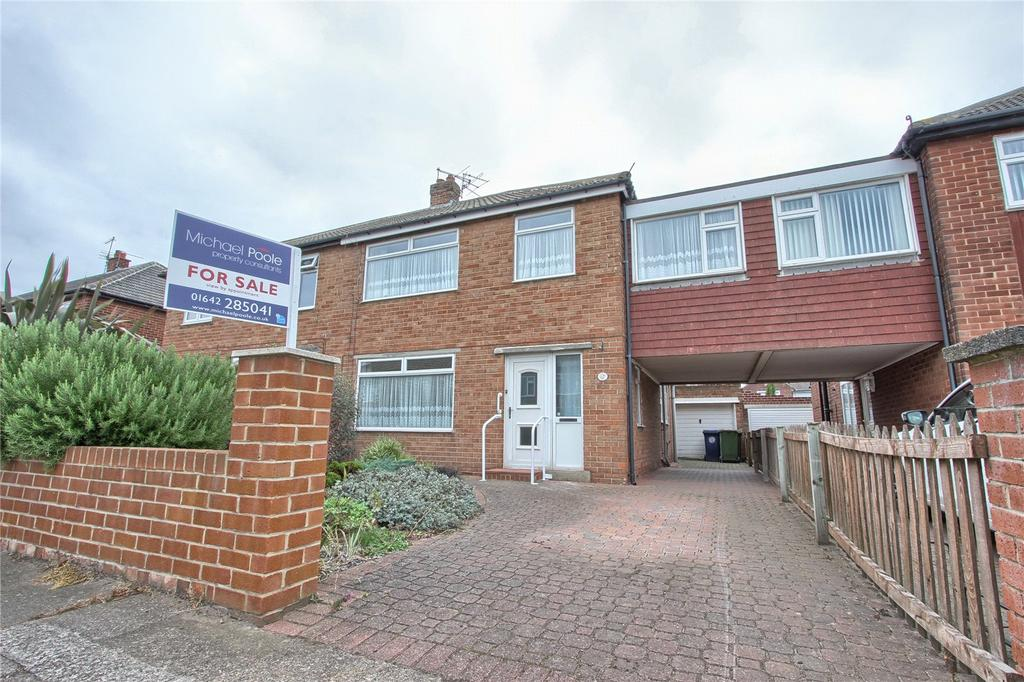 4 Bedrooms Semi Detached House for sale in Ascot Road, Redcar