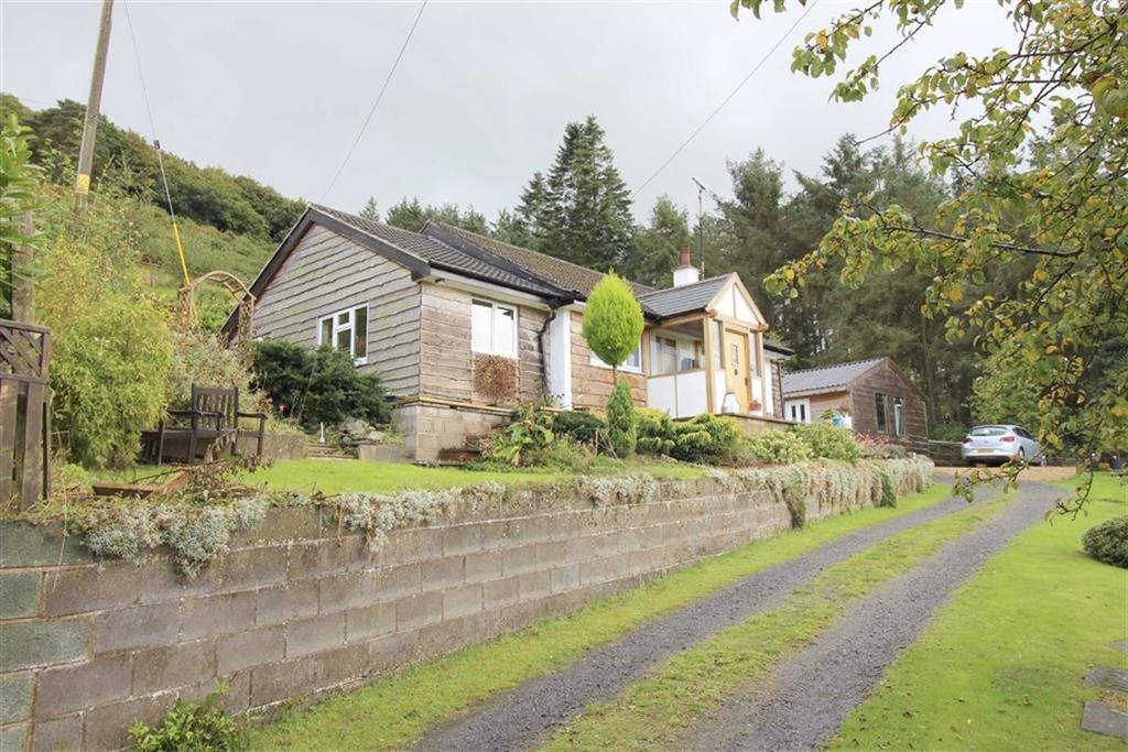 3 Bedrooms Detached Bungalow for sale in Bescott, Moel Y Golfa, Trewern, Welshpool, Powys, SY21