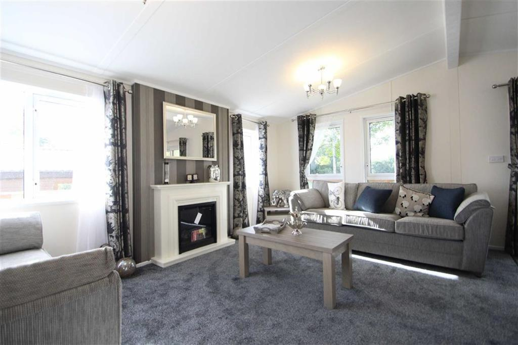 2 Bedrooms Park Home Mobile Home for sale in Yorkshire Dales Leisure Park, Harmby, Leyburn, North Yorkshire