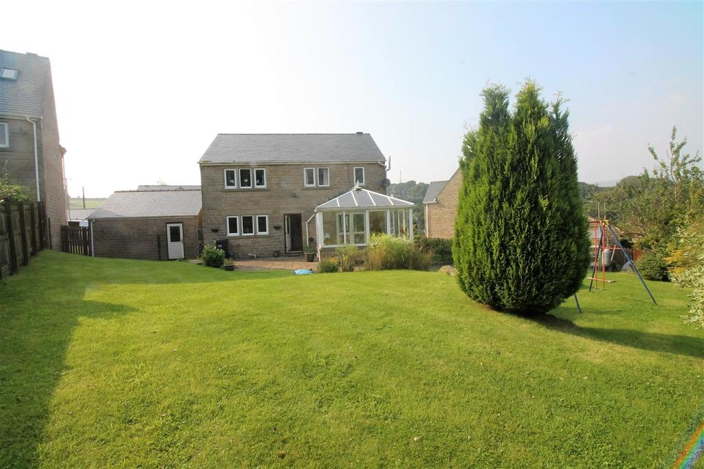 4 Bedrooms Detached House for sale in Rossendale View, Stoodley, Todmorden