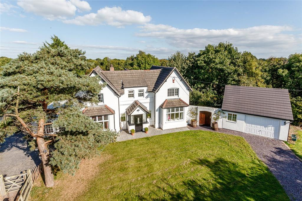 5 Bedrooms Detached House for sale in Hare Lane, Littleton, Chester, Cheshire