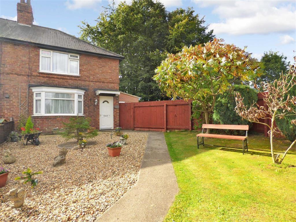 2 Bedrooms End Of Terrace House for sale in South Garth, Little Weighton
