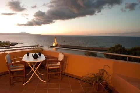 3 bedroom house  - Chania Harbour House, Old Venetian Harbour, Crete