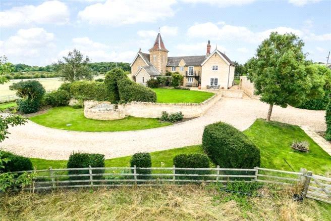 5 Bedrooms Detached House for sale in Warren Farm, Little Bytham, Grantham, Lincolnshire, NG33