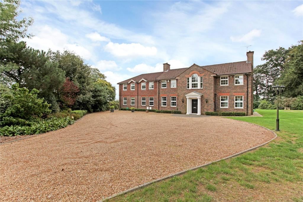 5 Bedrooms Detached House for sale in Church Lane, Worplesdon, Guildford, Surrey, GU3
