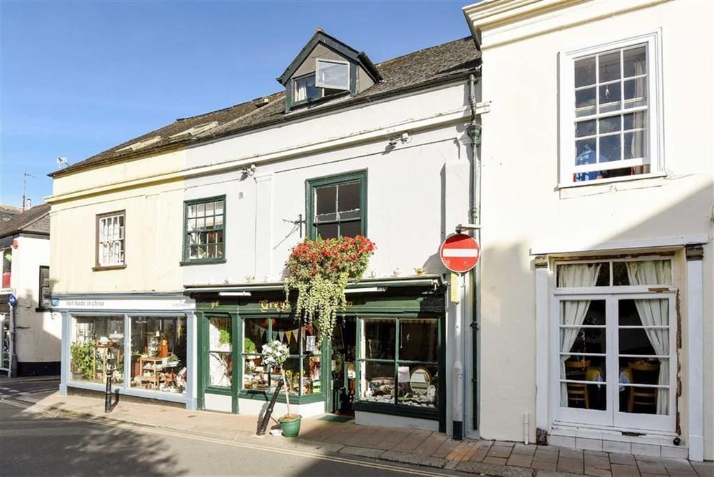 2 Bedrooms Semi Detached House for sale in High Street, Totnes, Devon, TQ9