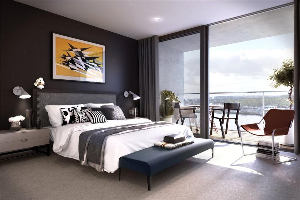 1 Bedroom Flat for sale in Royal Wharf, London, E16