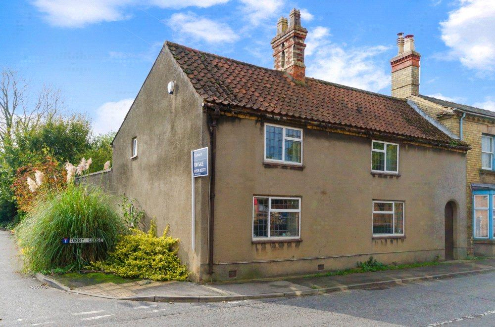3 Bedrooms Semi Detached House for sale in High Street, Heckington, Sleaford, Lincolnshire, NG34