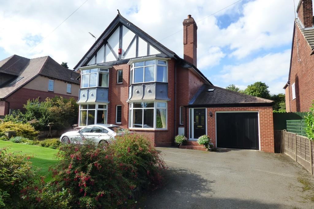 4 Bedrooms Detached House for sale in Highwood Road, Uttoxeter, Staffordshire, ST14 8BG