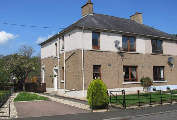 2 Bedrooms Flat for sale in 11 Headrig, Jedburgh, TD8 6HP